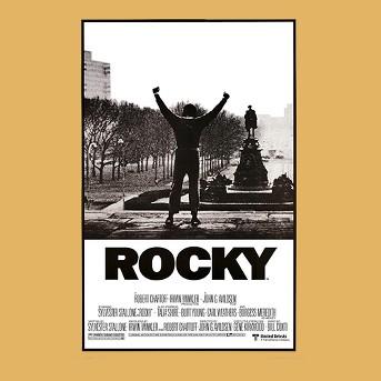 Art.com - Rocky - Movie Score Arms Up