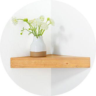 corner shelves - Wall Bookshelves Target