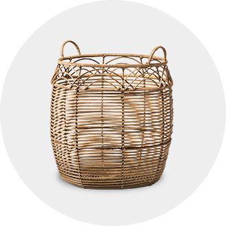 Decorative Basket Storage