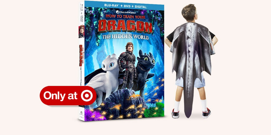 How to Train Your Dragon: The Hidden World with exclusive wearable dragon wings