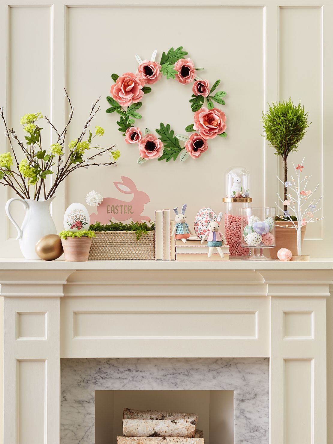 Easter Tablescape and Decor | Easter table, Table settings ... |Easter Spring Decorations