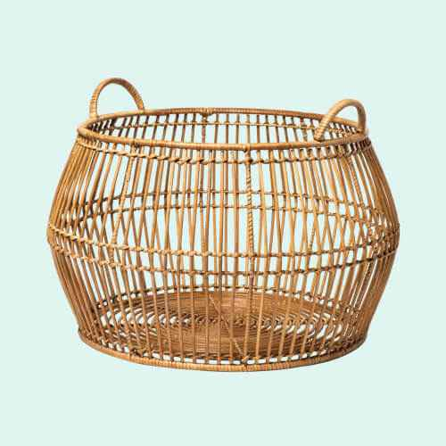Round Rattan Decorative Baskets Natural - Project 62™