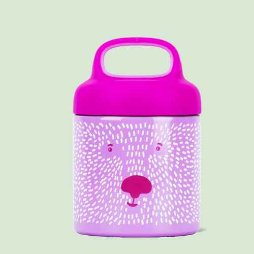 Reduce 10oz Stainless Steel Critter Food Jar Pink