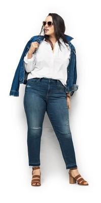 Trendy Plus Size Jeans