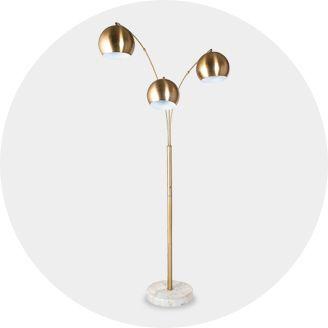 Shabby chic lamps lighting target floor lamps aloadofball Images