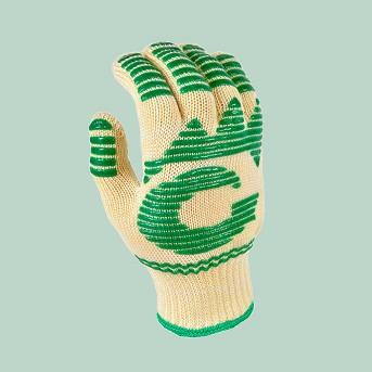 G & F 1684 Dupont Nomex & Kevlar Heat Resistant Gloves, Oven Gloves, Bbq Gloves, 1 Pair