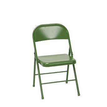 Set of 2 All Steel Folding Chair - Cosco
