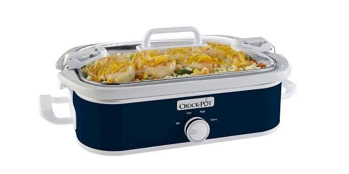 Crock-Pot® 3.5-Quart Casserole Crock Slow Cooker SCCPCCM350