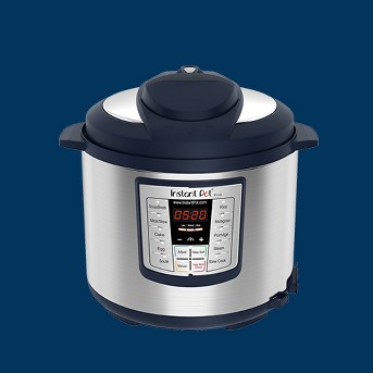 Instant Pot Lux 1000W Electric Pressure Cooker with Accessories - Navy