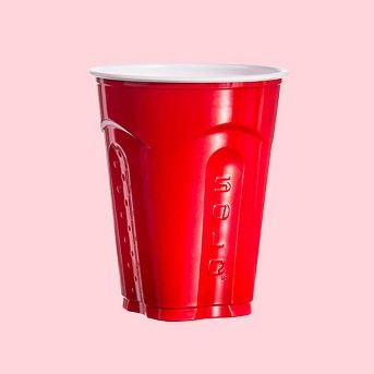 SOLO® Square Red Party Cup 18oz - 72ct