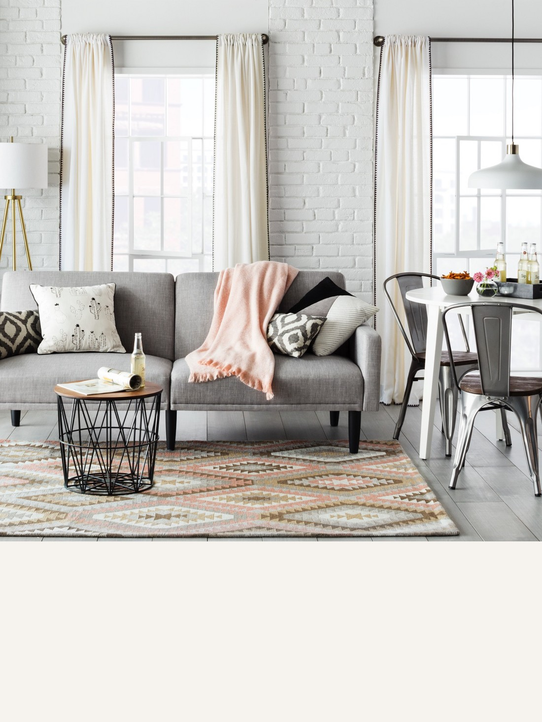 Gray Sofas Sectionals Target