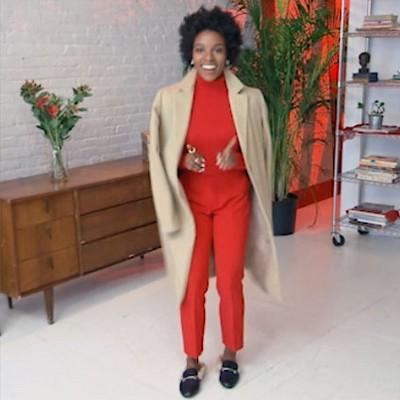 Women's Wool Overcoat - A New Day Camel