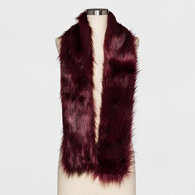 Women's Cold Weather Scarves - A New Day Burgundy