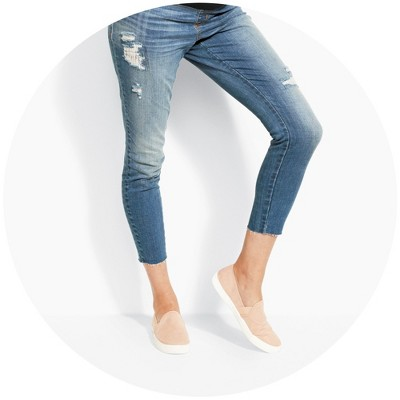 Bootcut maternity trousers