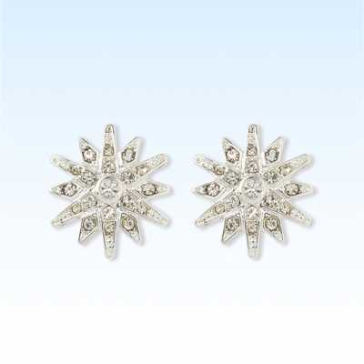 Pave Star Button Earrings - A New Day™