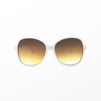 Women's Square/Rectangle Sunglasses - A New Day™ White