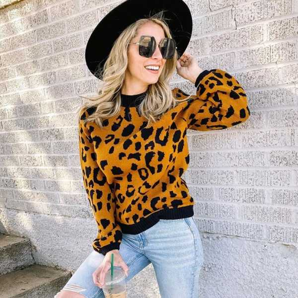 Spotted…everywhere: leopard print on everything.