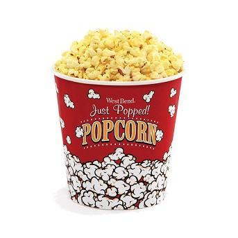 West Bend Medium Popcorn Bucket