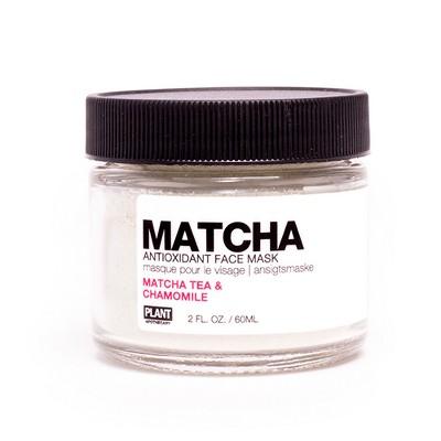 PLANT Apothecary  Matcha Antioxidant Face Mask - Matcha Tea & Chamomile - 2oz