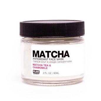 PLANT Matcha Antioxidant Face Mask - Matcha Tea & Chamomile - 2oz