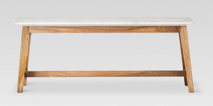 Lanham Coffee Table White - Threshold™