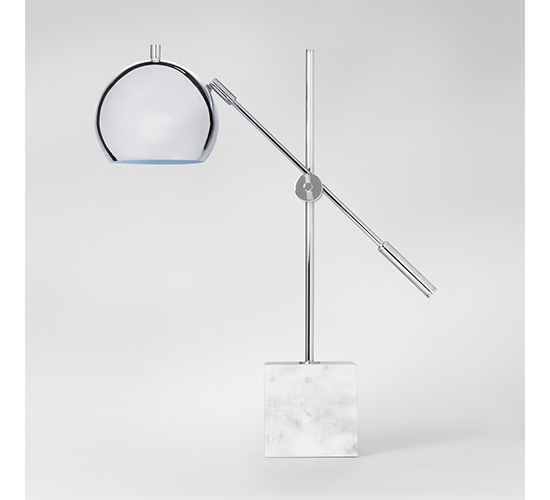 Marble Task Lamp Silver - Project 62™