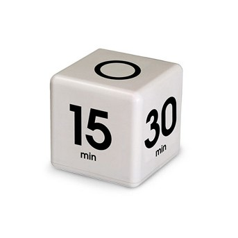 Datexx™ Time Cube, 1ct - White