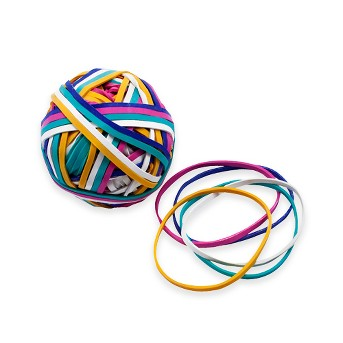 Rubber Band Ball 190ct Multicolor - Up&Up™