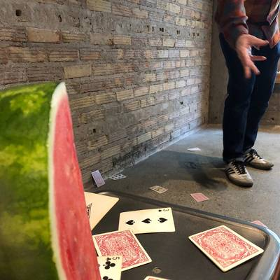 Watermelon game