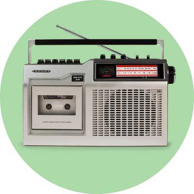 Crosley CT200 Cassette Player - Silver