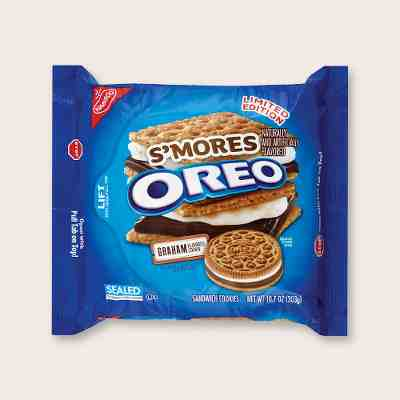 Oreo® S'mores Sandwich Cookies - 10.7oz