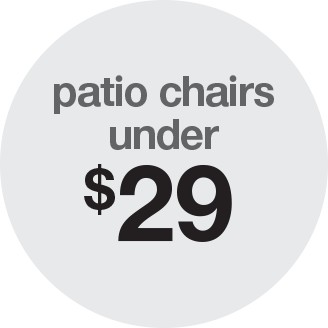 ... Patio Chairs Under $29 ...