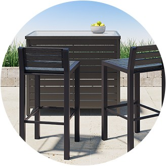 Patio Side Table : Patio Furniture Part 49