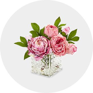 Artificial flowers plants target shop artificial plants flowers by color or vessel mightylinksfo