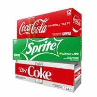 3-Pack Soda Beverages 12-ct on Sale Deals