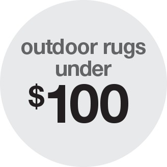 ... Outdoor Rugs Under $100
