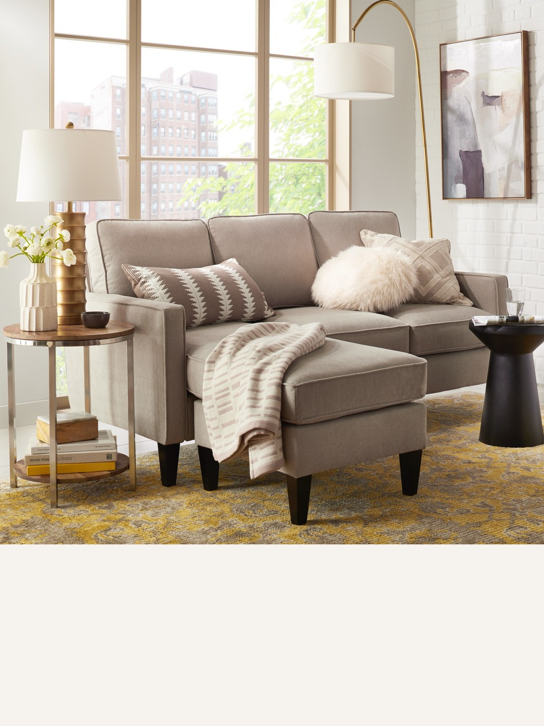 Smaller sectionals offer lots of comfy seating for small spaces while larger ones are best for open floor plans browse sectionals · sleeper sofa