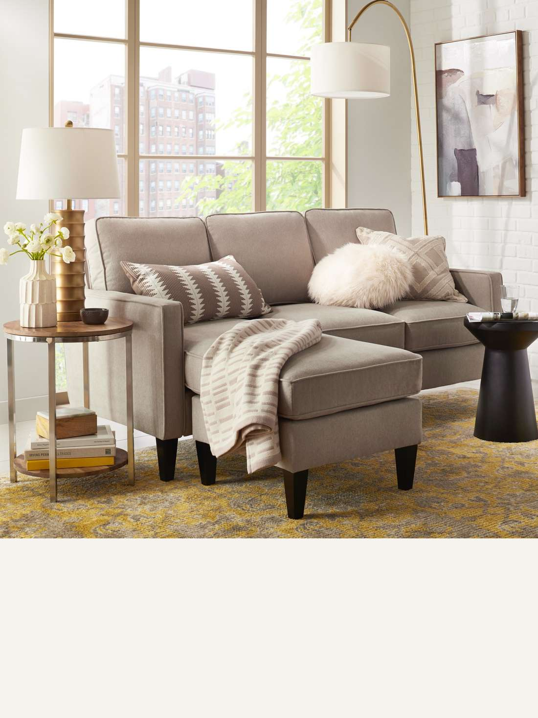 Sectional Smaller Sectionals Offer Lots Of Comfy Seating For Small Es While Larger Ones Are Best Open Floor Plans Browse Sleeper Sofa