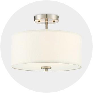 Gentil Semi Flush Ceiling Lights