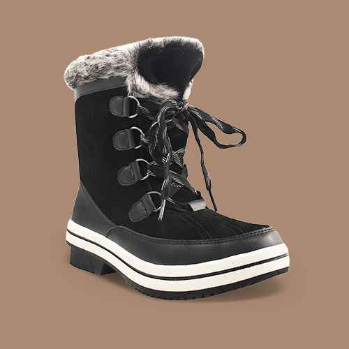Women's Ellysia Microsuede Short Functional Winter Boots - Universal Thread™