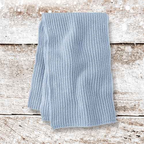 Women's Shaker Stitch Knit Scarf - A New Day™ One Size