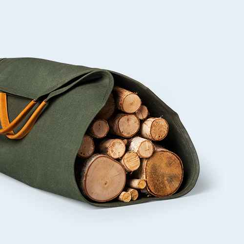 Log Carrier Norway Pine Green - Hearth & Hand™ with Magnolia