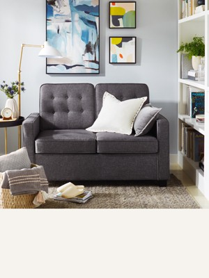 Small couches for bedrooms Long Rectangular Sleeper Sofa Also Known As Pullout Sofa Sleeper Sofa Is Functional Way To Turn Study Into Guest Room Browse Sleepers Target Sofas Sectionals Target