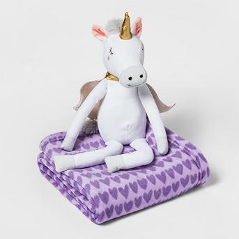 Unicorn Throw Buddy - Pillowfort™