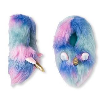 Girls' Unicorn Bootie Slippers - Cat & Jack™