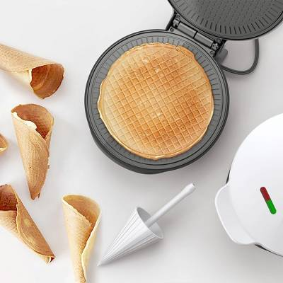 Koji Nonstick Waffle Maker - Orange