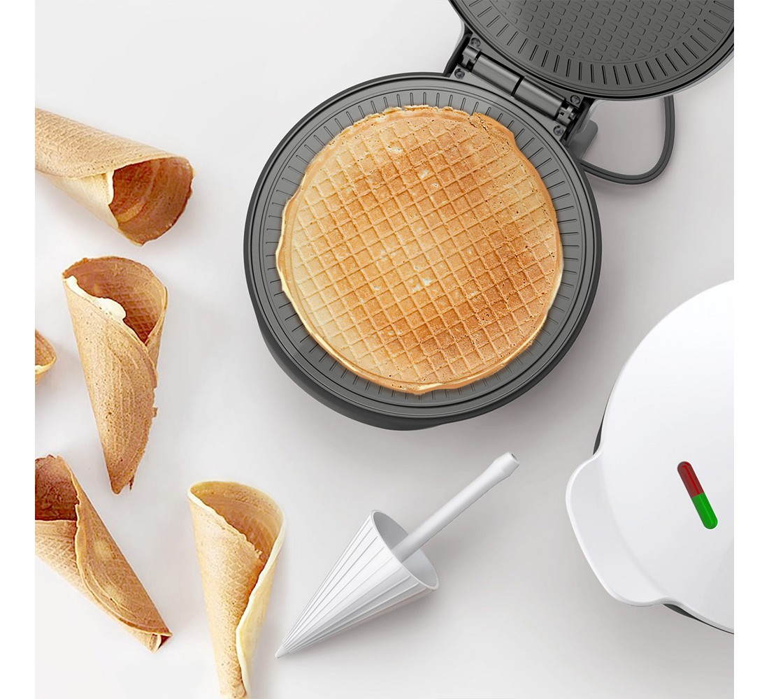 Koji Nonstick Waffle Maker - Orange