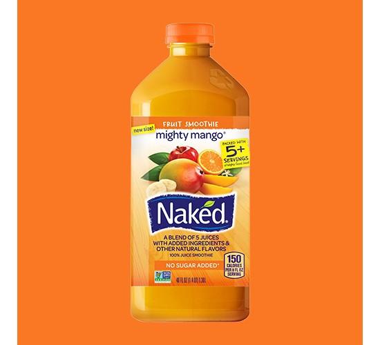 Naked Juice Mighty Mango Fruit Smoothie 46oz