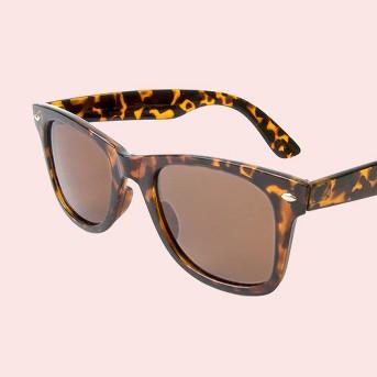 Men's Wayfarer Sunglasses- Tortoise
