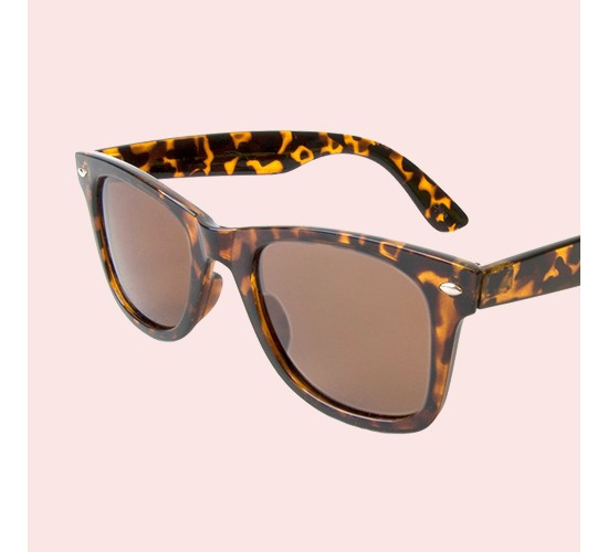 Men's Wayfarer Sunglasses- Tortoise